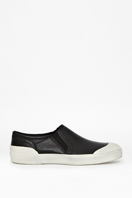 Tim Leather Slip-On Sneakers