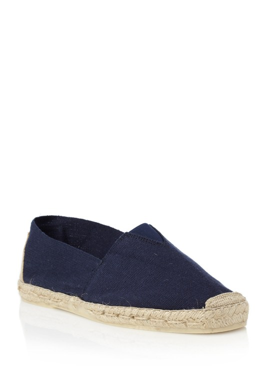 French Connection Canvas Espadrilles Navy