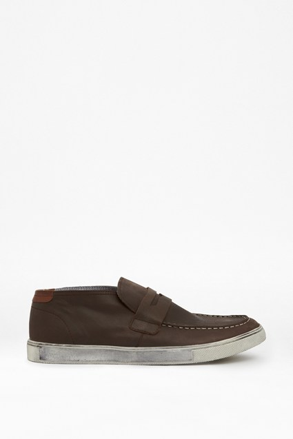 Jonah Leather Penny Loafers