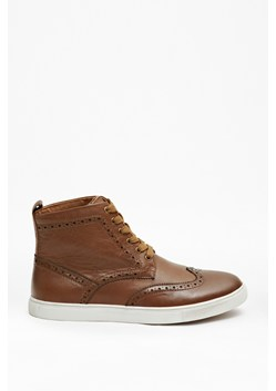 Walt Leather Brogue Boots