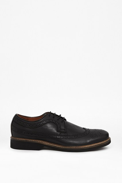 Lance Leather Wingtip Brogues