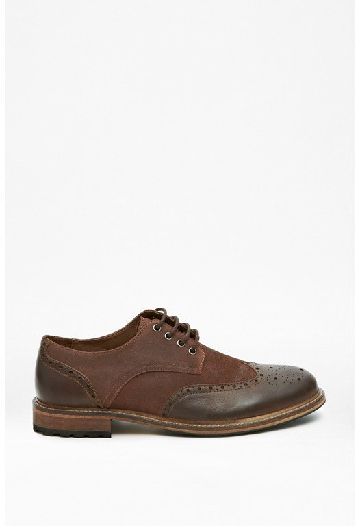 Flynn Leather Brogues