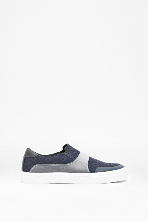 Complete the Look Cassium Digital Print Slip-On Trainers