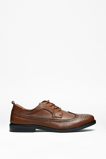 Cajol Contrast Leather Brogues