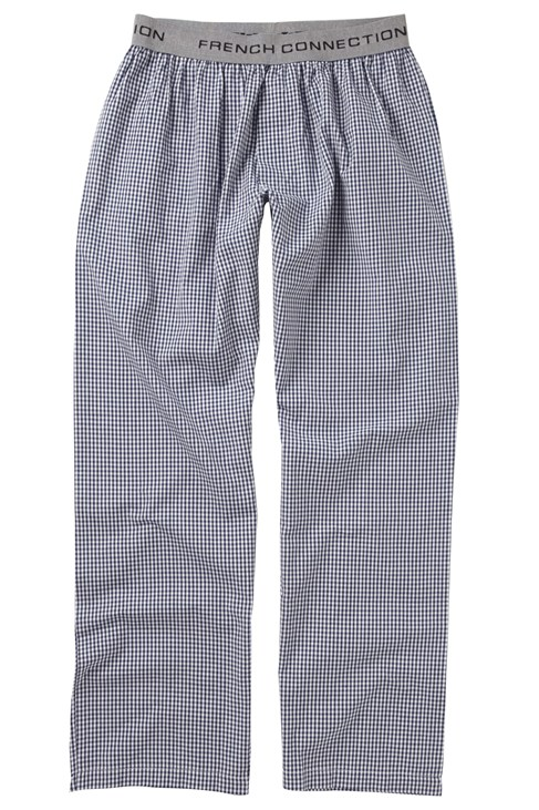 Gingham Loungewear Trousers