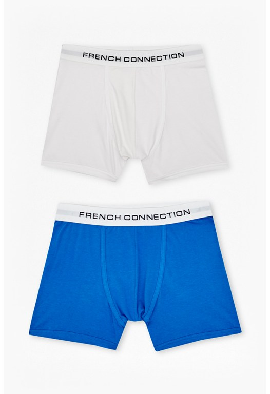 2PK Plain Colour Pop Trunks