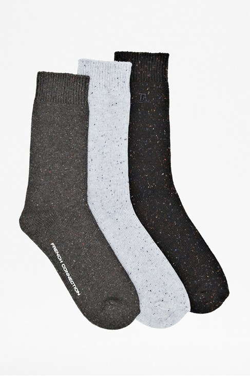 Three Pack Stanton Socks