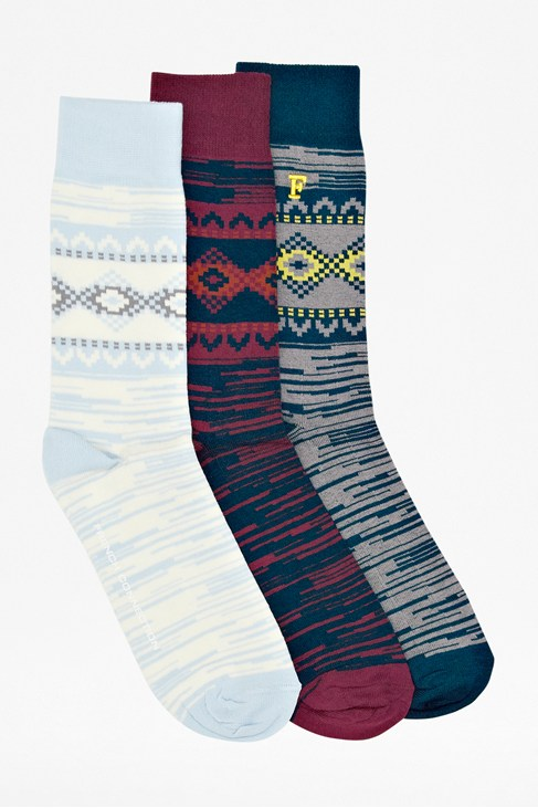 Three Pack Victor Socks