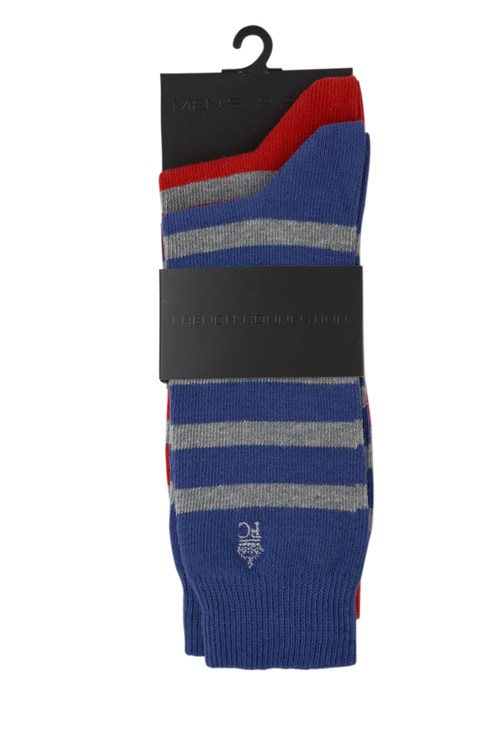 Alfie Stripe 2 Pack Socks