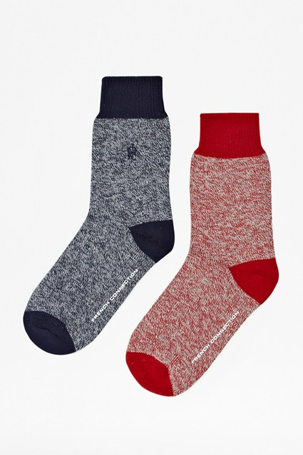 Two Pack Primal Quest Yarn Socks