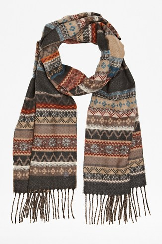 Fair Isle Republic Scarf