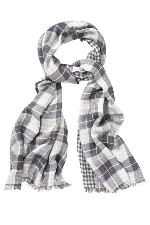 Contrast Check Scarf