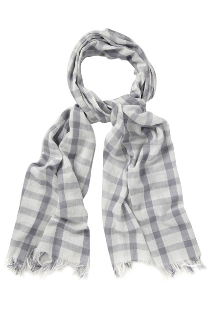 Turning Check Scarf