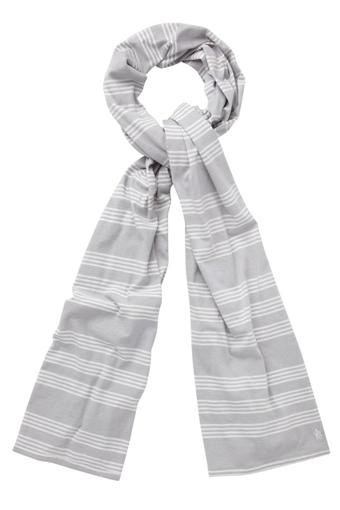 Sea Spray Stripe Scarf