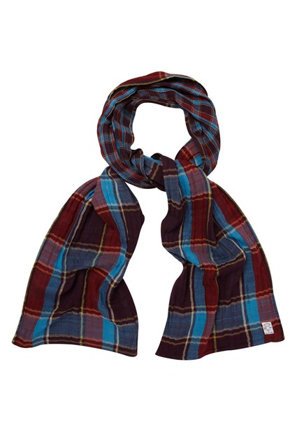 Bison Double Checked Scarf