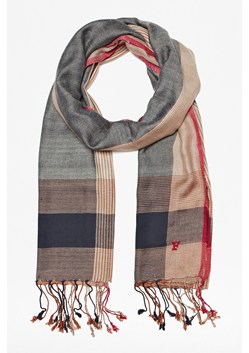 Bruno Border Striped Scarf