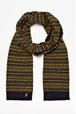 Looks Great With Hudson Fair Isle Scarf