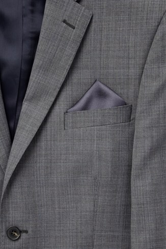 Silk Border Pocket Square