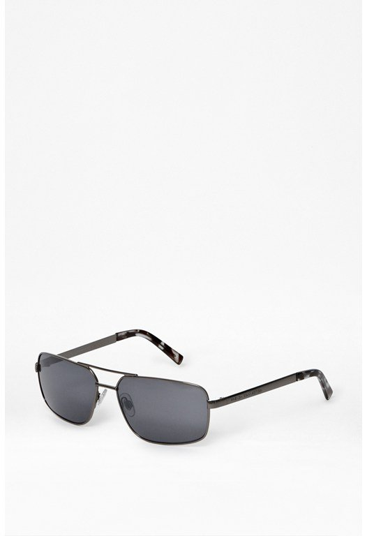 Rectangle Metal Sunglasses