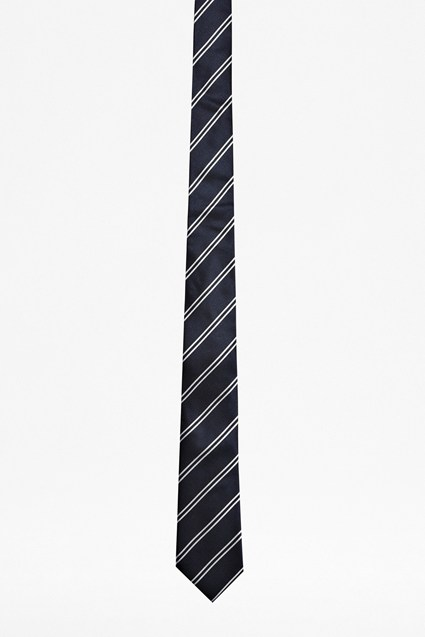 Rowing Stripe Silk Tie