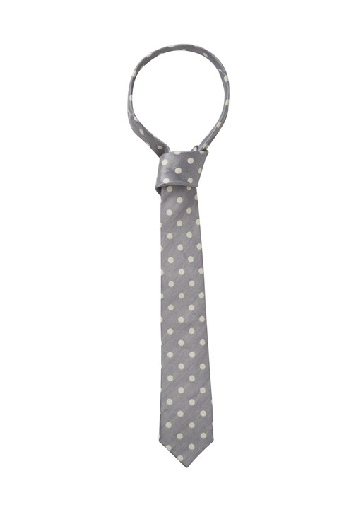 French Connection Linen Spot Tie
