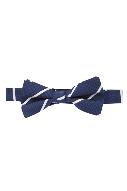 Management Striped Bow Tie