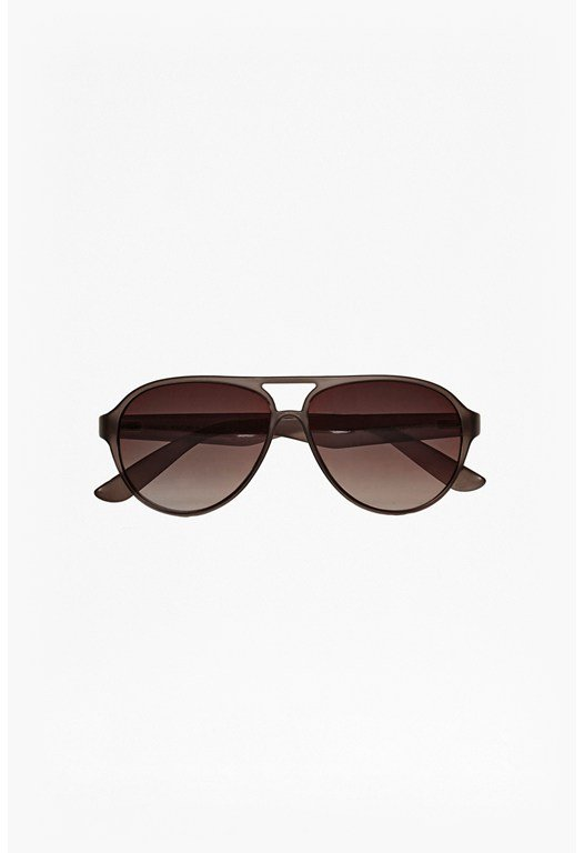 Plastic Aviator Sunglasses