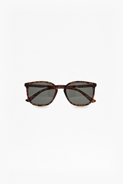 Complete the Look Slim Temple Preppy Sunglasses