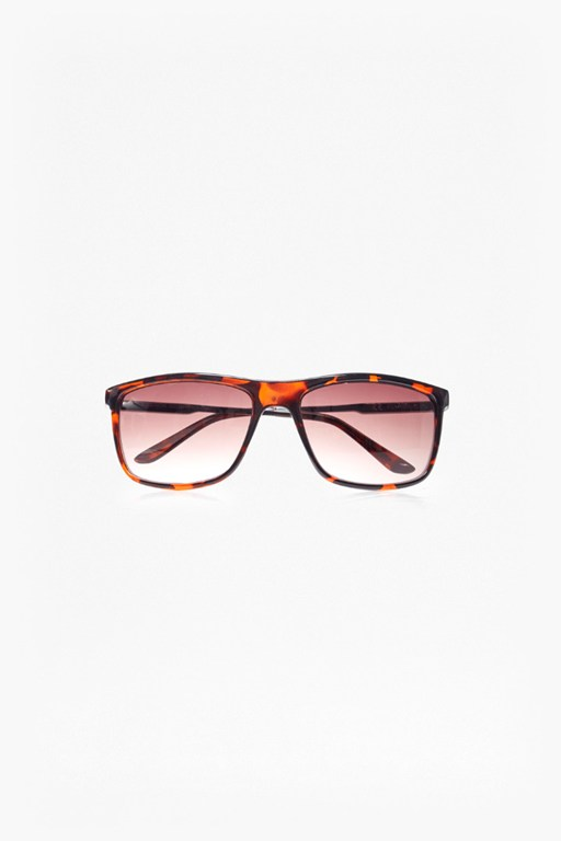 Complete the Look Metal Temple Square Sunglasses