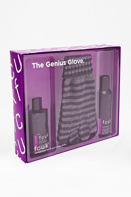 FCUK The Genius Glove & Vintage Body Duo Set