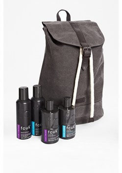 FCUK The Man About Town Duffle Bag & Body Kit