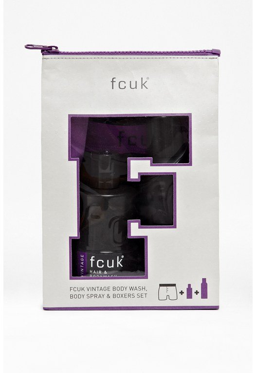 FCUK Well Packed Gift Set