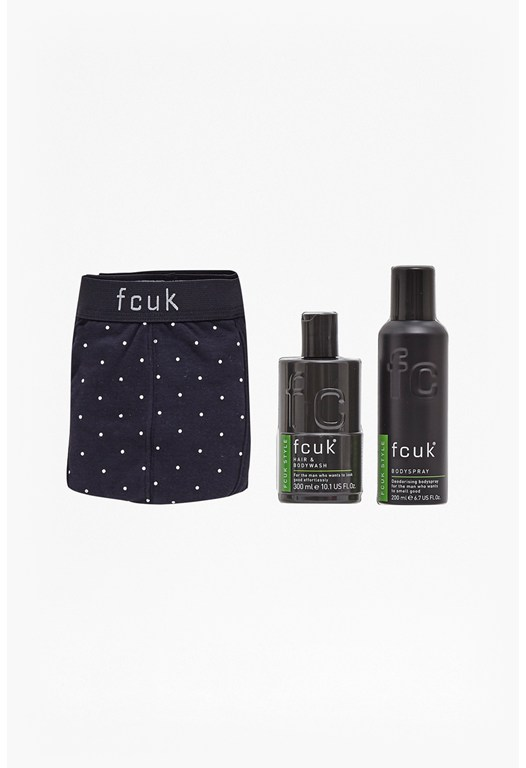 Boxers & Grooming Duo Gift Set