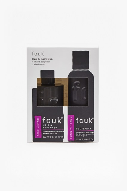 FCUK VINTAGE Hair & Body Duo Set