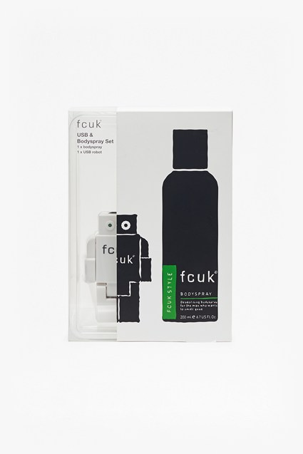 USB & Body Spray Set