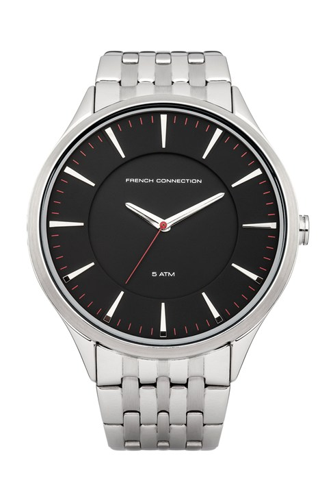Matte Stainless Steel Bracelet Watch