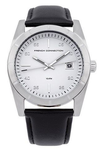 Harper Square Leather Watch