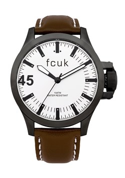 Acton Bold FCUK Leather Watch