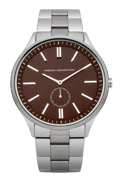 Polished And Brushed Bracelet Watch