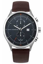 Looks Great With Kensington 44MM Leather Strap Watch