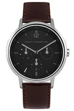 Looks Great With 39MM Leather Strap Watch