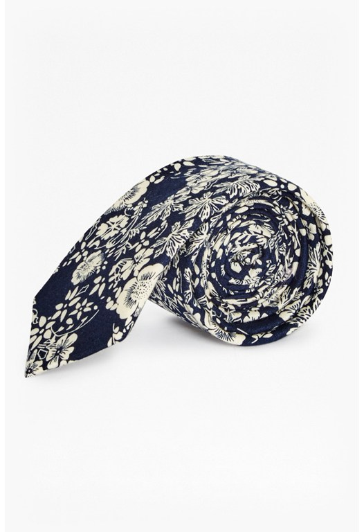 Miguel Cotton Printed Tie