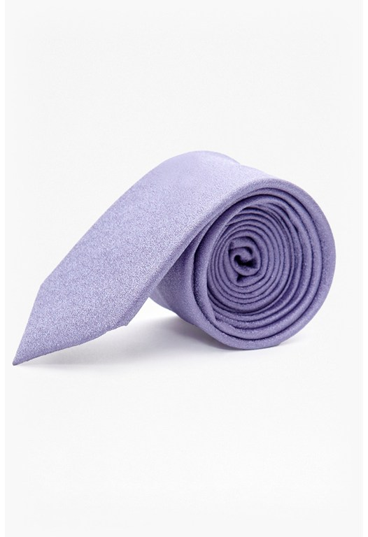MB Lilac Textured Silk Tie