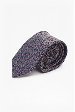 Looks Great With Amil Geo Silk Tie