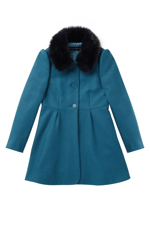 Wool Wonderland Fur  Coat