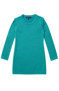 Dani Knit Girls Pleat Knit Dress