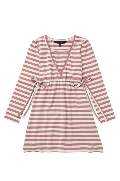 Toulouse Stripe Tie Waist Dress
