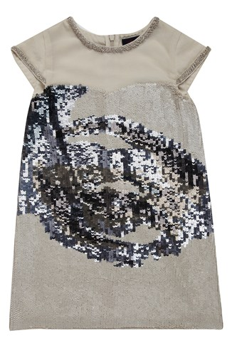 Eye Dazzle Shift Dress