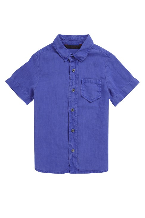 Coloured Linen Shirt