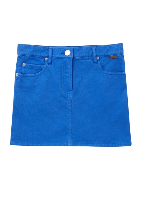 Lila Denim Skirt